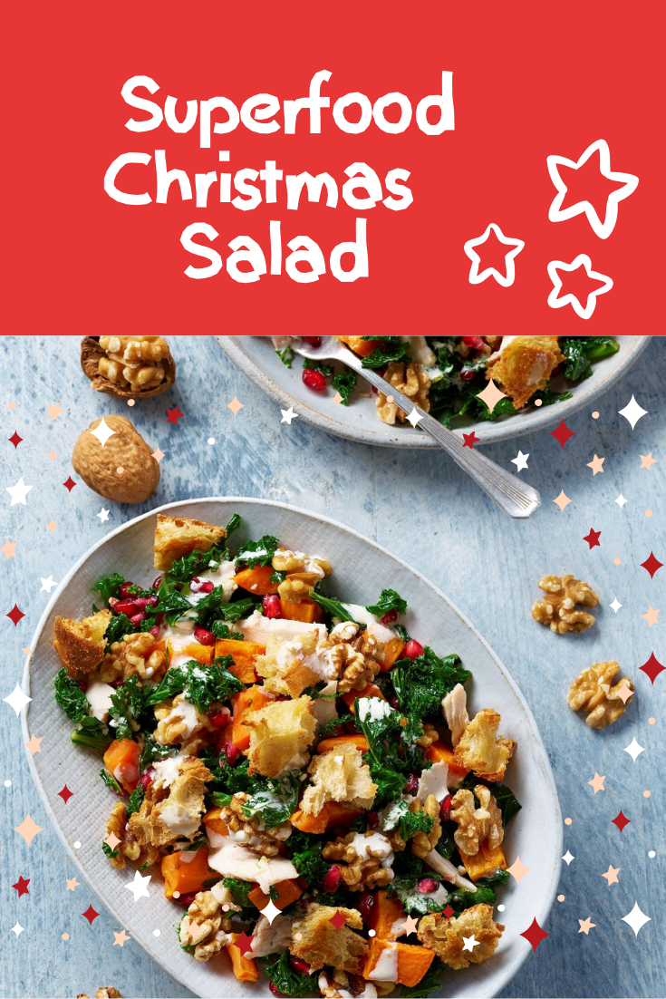 Superfood Christmas Salad: Nice And Healthy