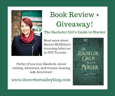 {Book Recommendation + Giveaway} The Bachelor Girl's Guide to Murder by Rachel McMillan