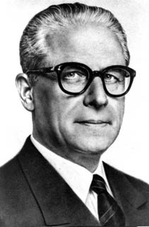 Gronchi was elected president in 1955 in succession to Luigi Einaudi