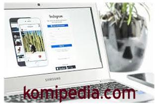 cara upload foto instagram dengan komputer