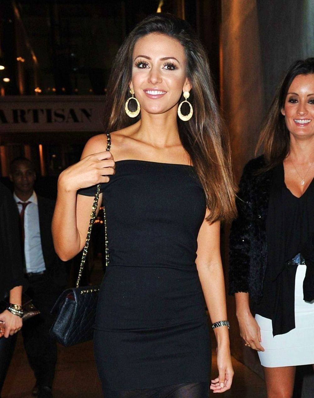 Michelle Keegan Night Out In Machester HD Photos