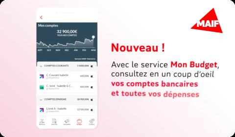 MAIF mobile – Mon Budget