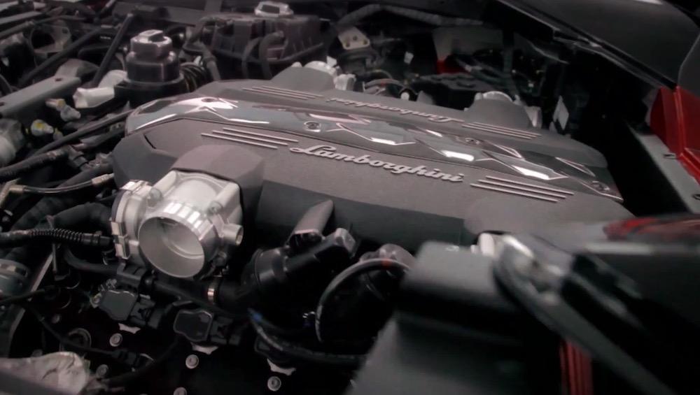 Motore della Lamborghini Urus