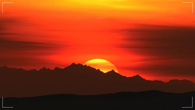 Dalekie obserwacje z Rozsypańca w Bieszczadach (odległość ponad 180 kilometrów)