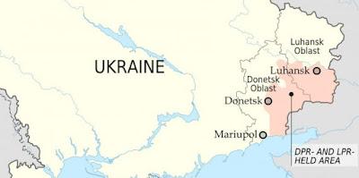 self-proclaimed Donetsk and Lugansk People's Republics