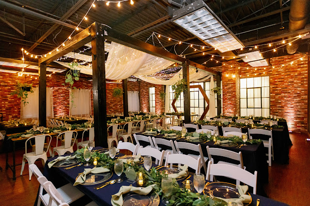 reception setup at trellis925