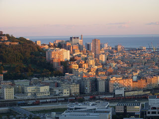 Sampierdarena is now an industrial suburb of  the Italian port city of Genoa