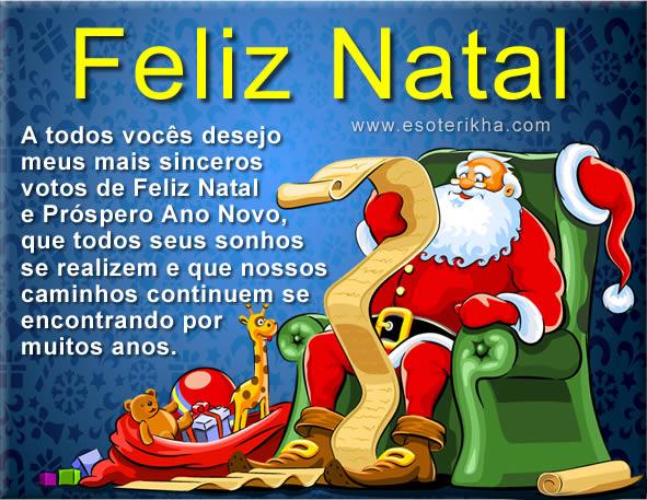 Feliz Natal A Todos Amigos, Parceiros E Seguidores Do