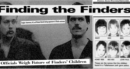 CIA child trafficking cults finders cover-up