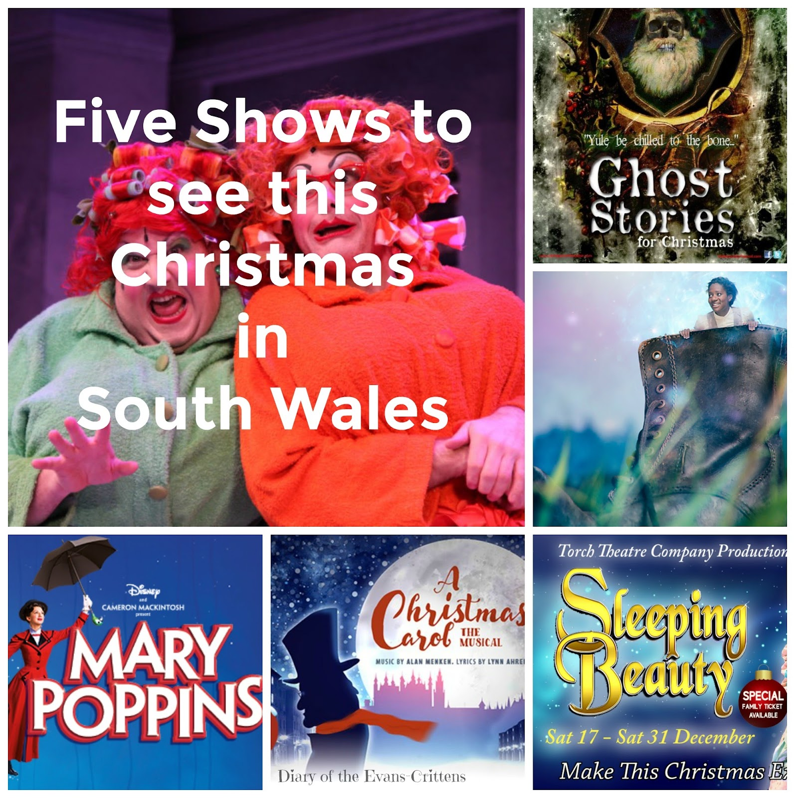 , Five Shows to Watch in South Wales this Christmas