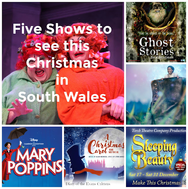 Christmas Shows, Pembrokeshire, Wales, Cardiff, South Wales, theatre, family theatre, Christmas, festive, ghost stories, Mary Poppins, Sleeping Beauty, The Borrowers, A Christmas Carol, Ghost Stories for Christmas, Wales Millennium Centre, Sherman Cymru, New Theatre Cardiff, Queen's Hall, Narberth, Torch Theatre, Milford Haven, Pantomime, children's theatre,