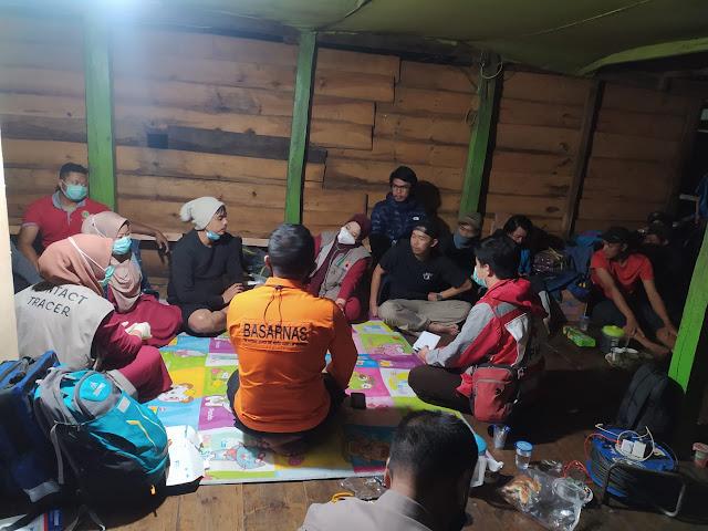 Perjalanan Evakuasi Ekstrim di Gunung Lompobattang Berakhir, 6 Pendaki Selamat