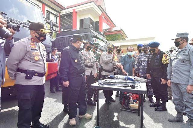 Pjs Gubernur Kepri Pimpin Apel Kesiapan Penanganan Bencana
