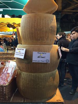 London Borough Market Cheese Wheels