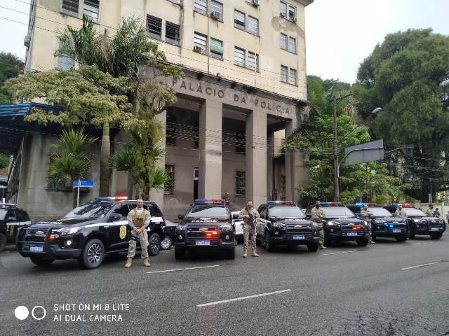 Polícia Civil recebe 6 viaturas blindadas do Governo do Estado