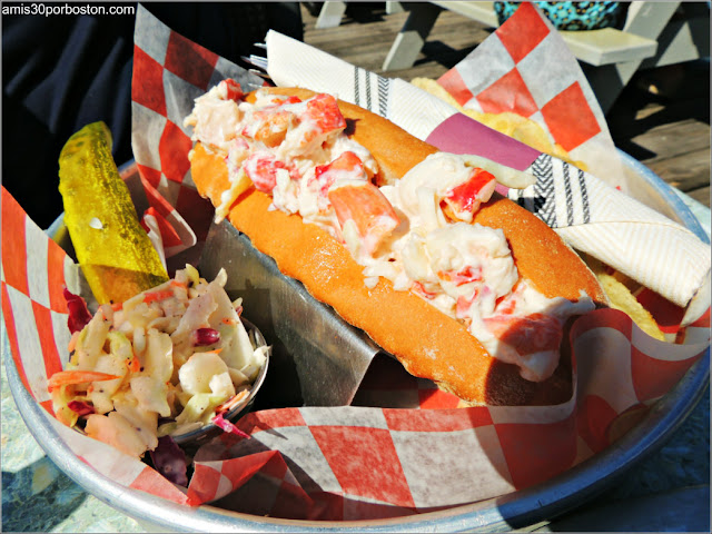 Lobster Shacks en la Costa Sur de Maine: Bayley's Lobster Pound