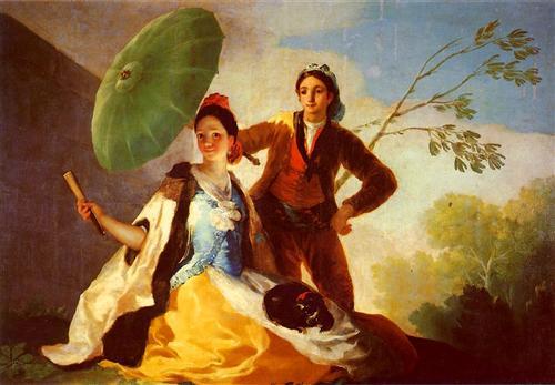 Francisco Josе de Goya Зонтик