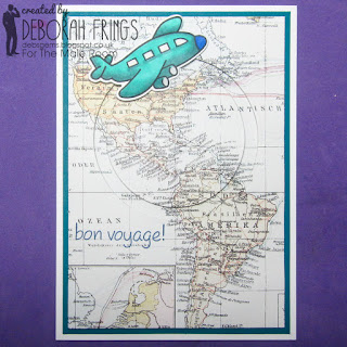 Bon Voyage sq - photo by Deborah Frings - Deborah's Gems