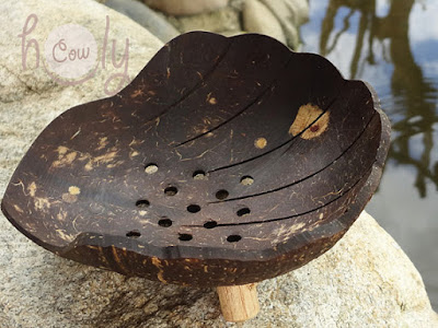 Coconutshell Soap Dish