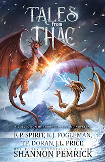 Tales from Thac - a thrilling fantasy anthology by F. P. Spirit et. al  book promotion