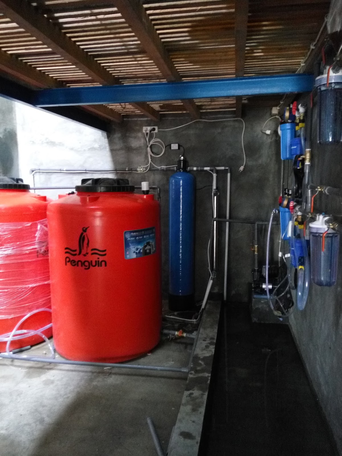 Pemasangan Unit Water treatment Plan Di kandang ayam Close ...