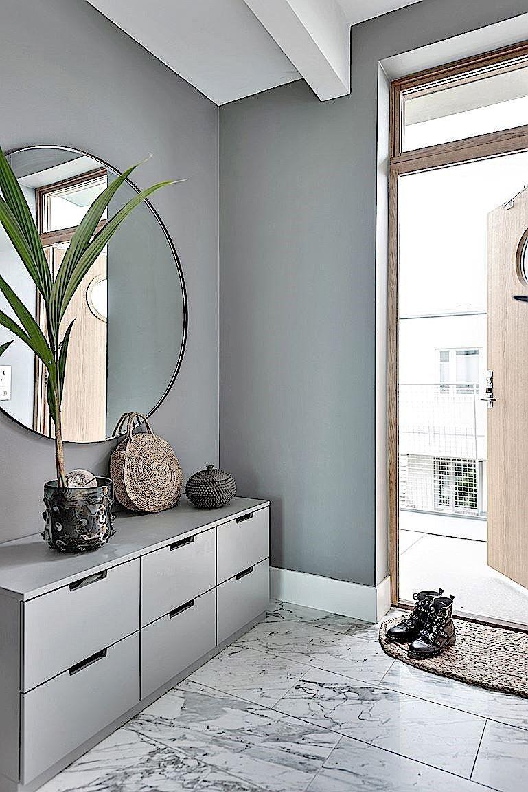 Monochrome With Gold Accents Home Decor Idea