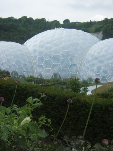Click on pic - Our Trip to Eden Project UK