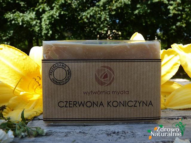Wytwórnia Mydła -  Mydło CZERWONA KONICZYNA