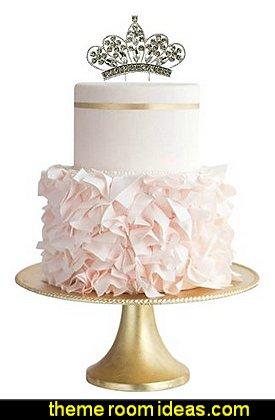 Rhinestone Crown                   Princess Cake Topper Sparkle