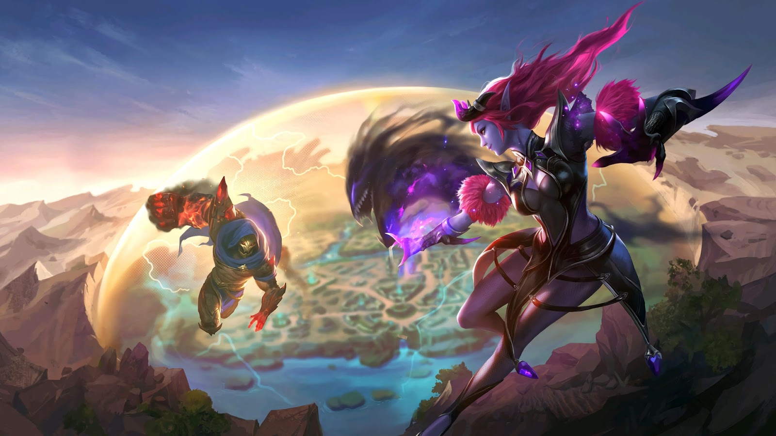 Wallpaper Selena and Aldous Skin Mobile Legends HD for PC