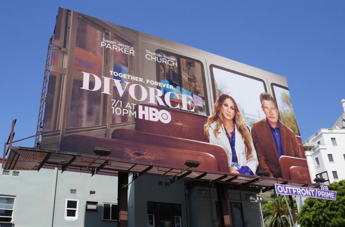 Divorce final season 3 HBO billboard
