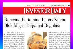 Pertamina's Plan to Release Oil and Gas Block Shares is Hampered by Regulations