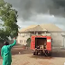 BREAKING!!! Fire Guts Popular Radio Station In Ebonyi State (Photos)