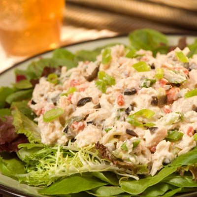 This recipe uses zero mayonnaise to create a delicious tuna salad with Mediterranean Tuna Salad Recipe