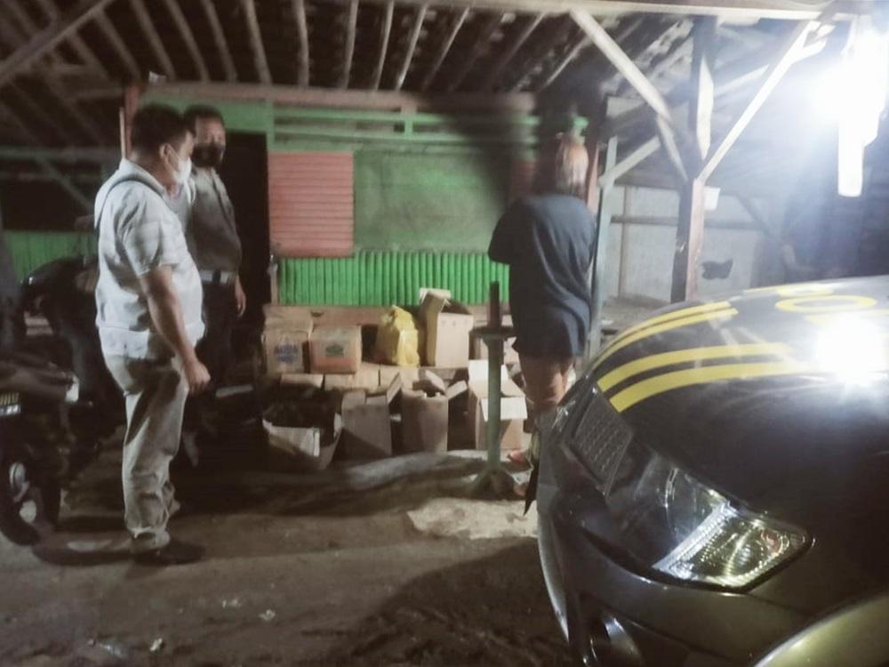 Ratusan Miras Jenis Ciu Hingga Vodka Diamankan Polisi di Sruweng