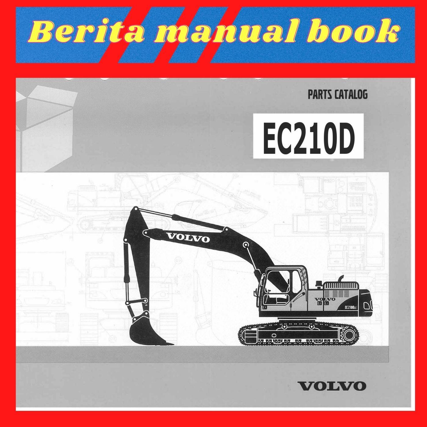 Volvo EC210D parts catalog excavator