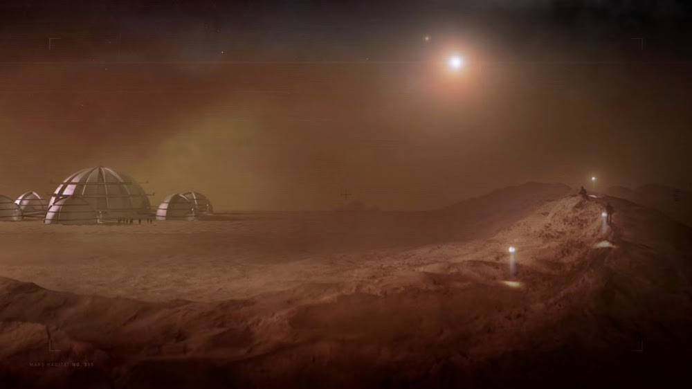 Mars habitat in Season 4 of The Expanse