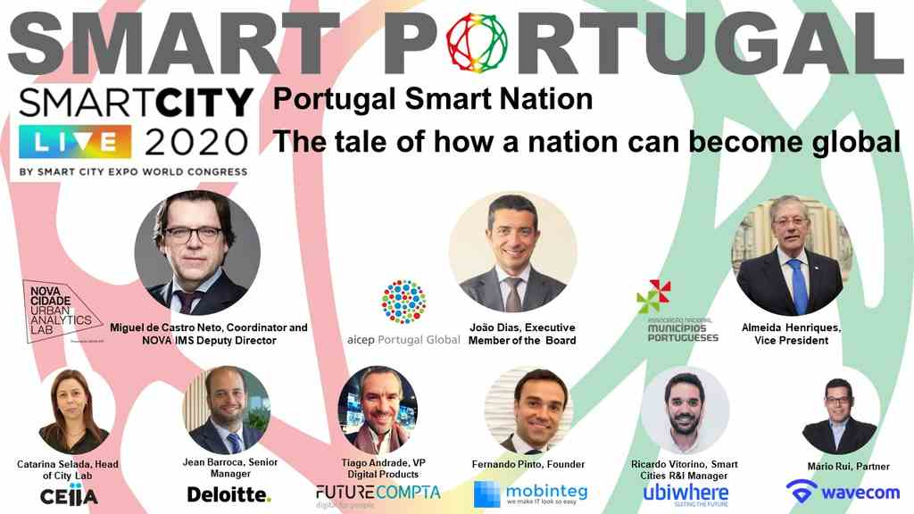 Portugal vai participar no Smart City Expo World Congress 2020, o evento líder internacional em inteligência urbana