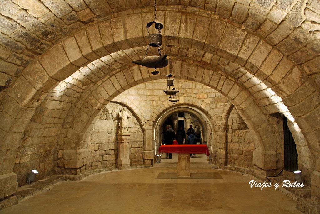 Cripta de san Antolín, Catedral de Palencia