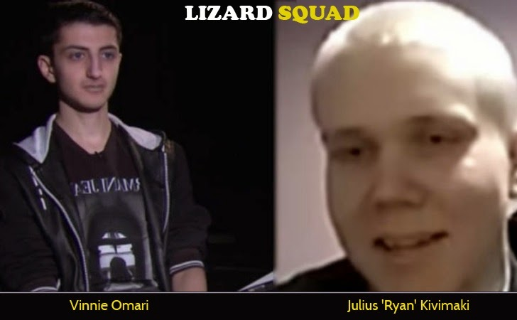 Two Alleged Members of Lizard Squad Arrested