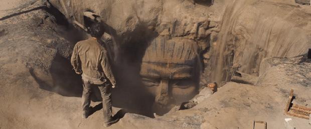 Una escena de 'La Momia'