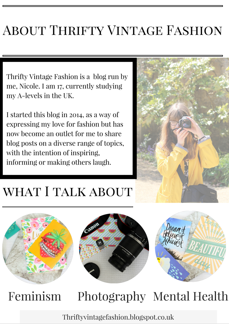 How To Make A Media Kit For Your Blog thriftyvintagefashion media kit