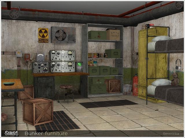 Постапокалипсис и разруха — наборы декора и объектов Sims 4 со ссылкой для скачивания