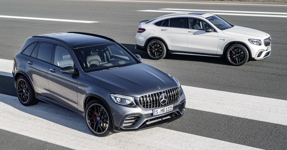 C63 Amg Coupe 2018 >> 2018 Mercedes-AMG GLC63 And GLC Coupe 63 Bring The V8 ...