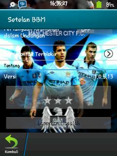 BBM Manchester City for Gb