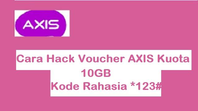 Cara Hack Voucher AXIS