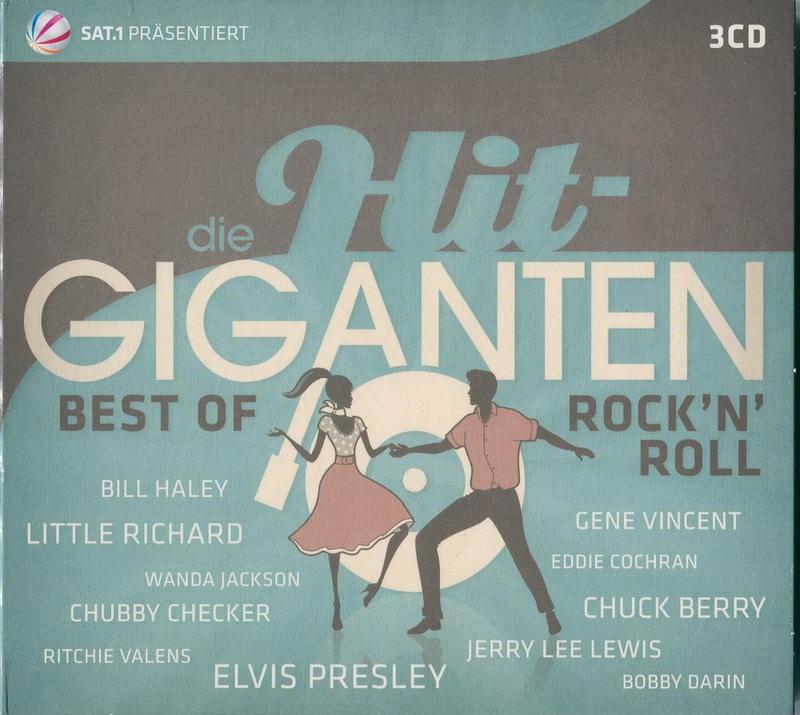 ENTRE MUSICA: DIE HIT-GIGANTEN - Best of Rock\'n\'roll V.A. (3 CDs)