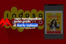 Cara Mendapatkan Pulsa Gratis di Kartu Indosat