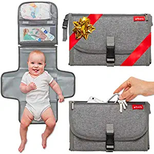 Baby Travel Changing Station Mat Clutch