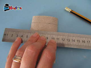 riciclo tubo di cartone carta igienica